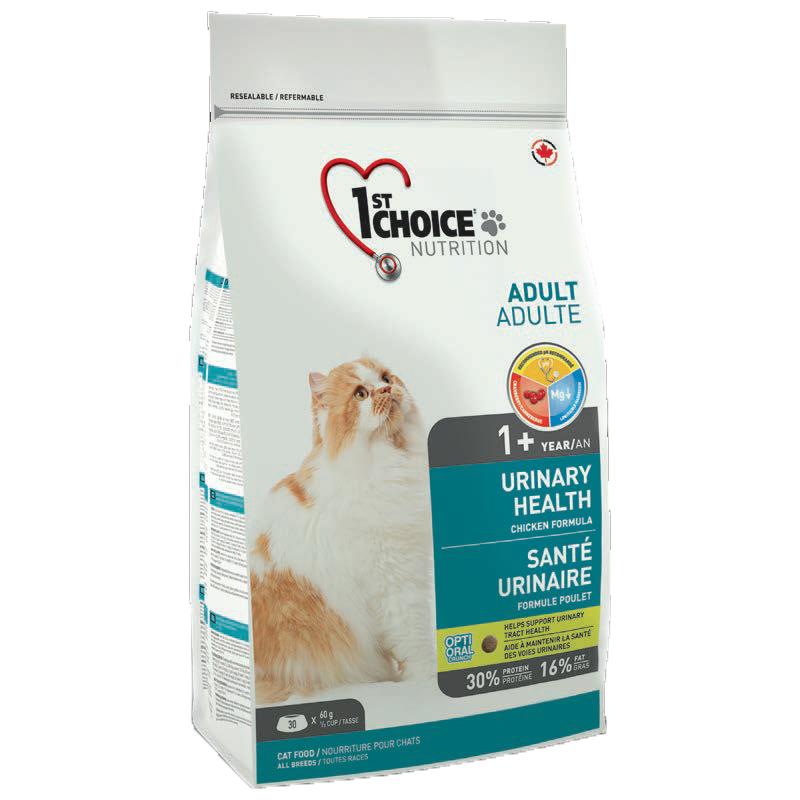 1ST CHOICE Urinary Корм для кошек профилактика МКБ с курицей