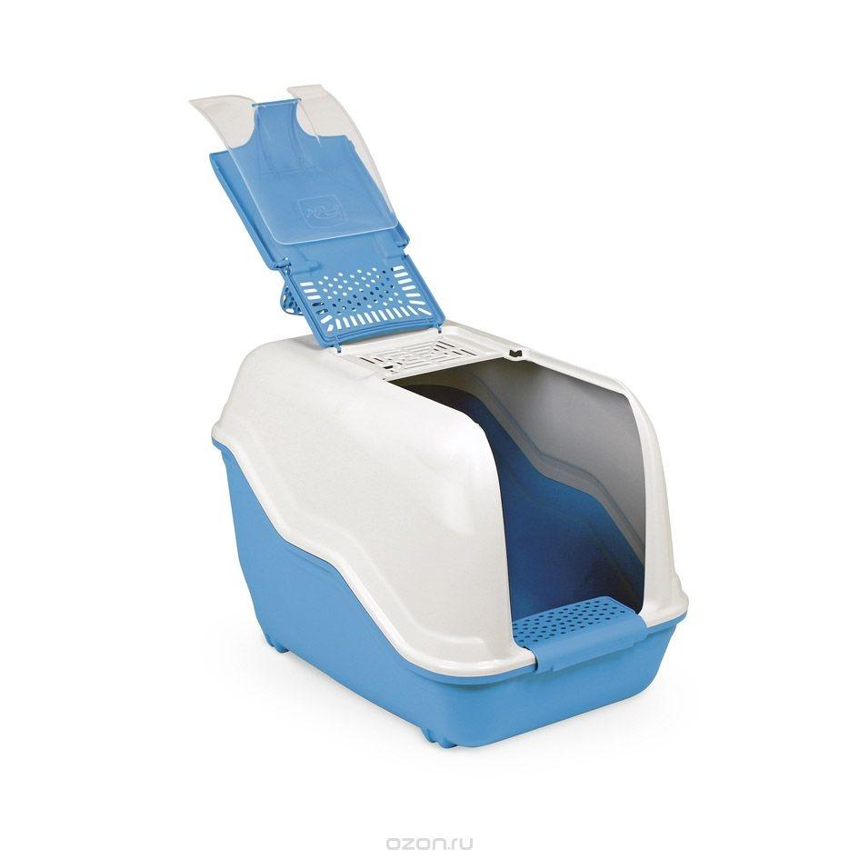 MPS NETTA Био-туалет 54х39х40 см с совком голубой
