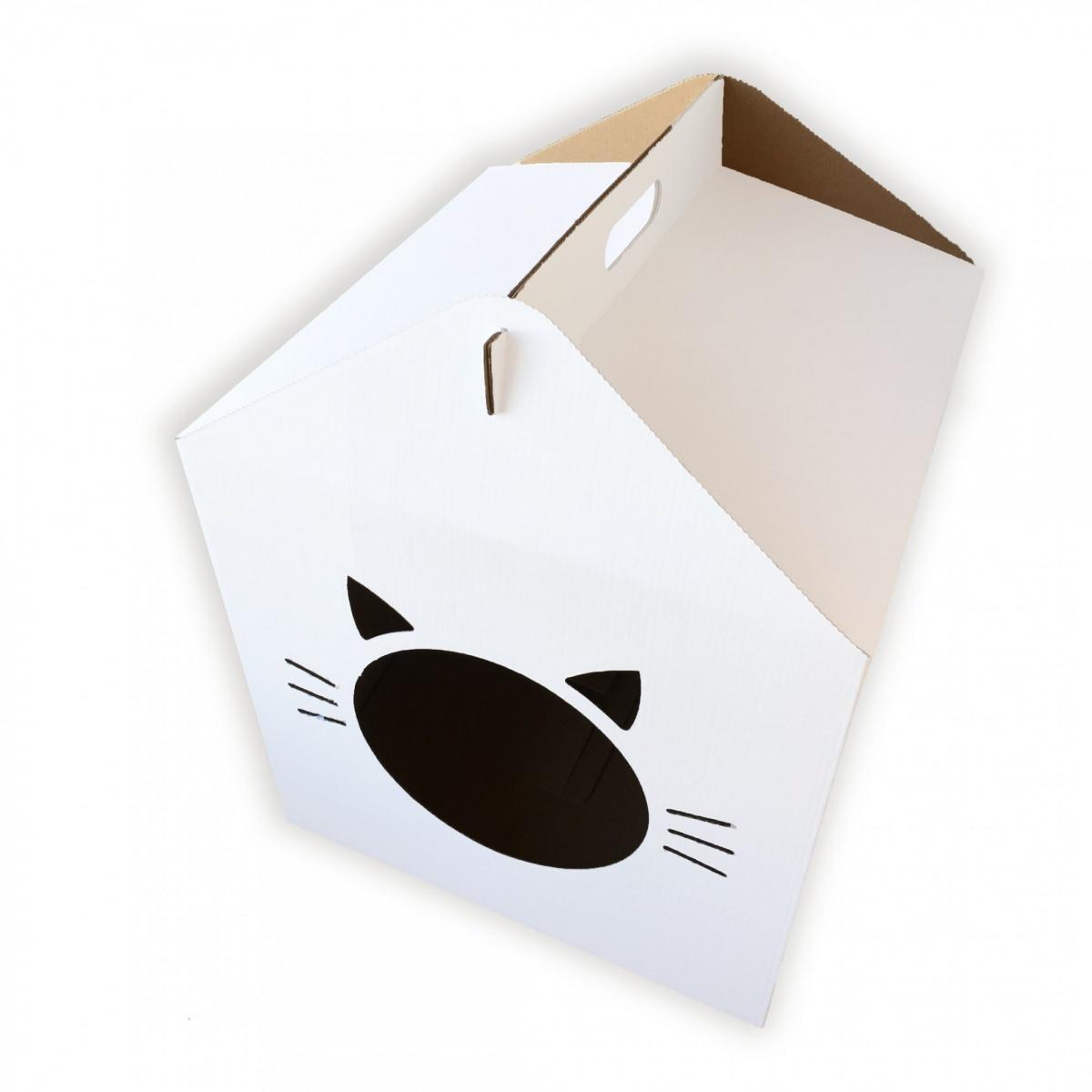 TOMEOWRU Домик из картона KUBIK