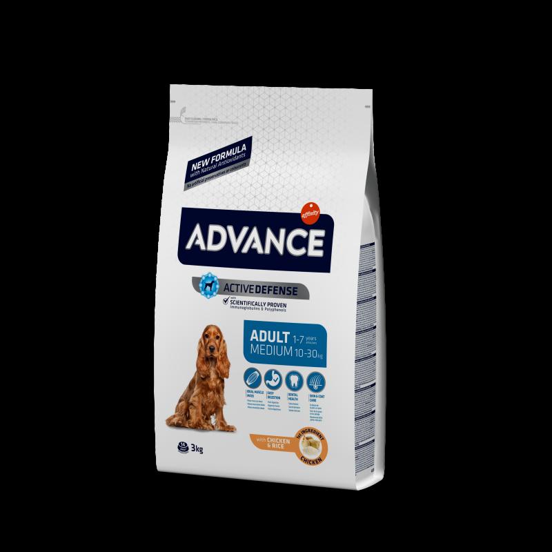 Приют Василек. Advance Medium Adult - Адванс Корм для собак средних пород 3 кг