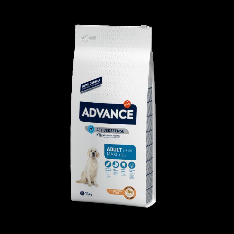Приют Василек. Advance Maxi Adult - Адванс Корм для собак крупных пород 18 кг