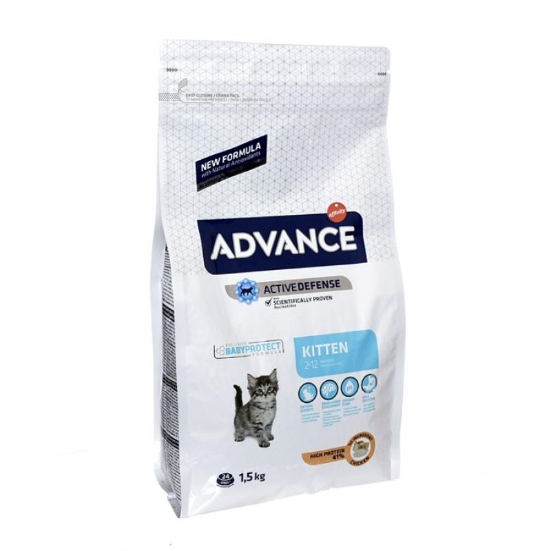 Advance Baby Protect Kitten -Адванс корм для котят с 2-х до 12 мес с курицей и рисом