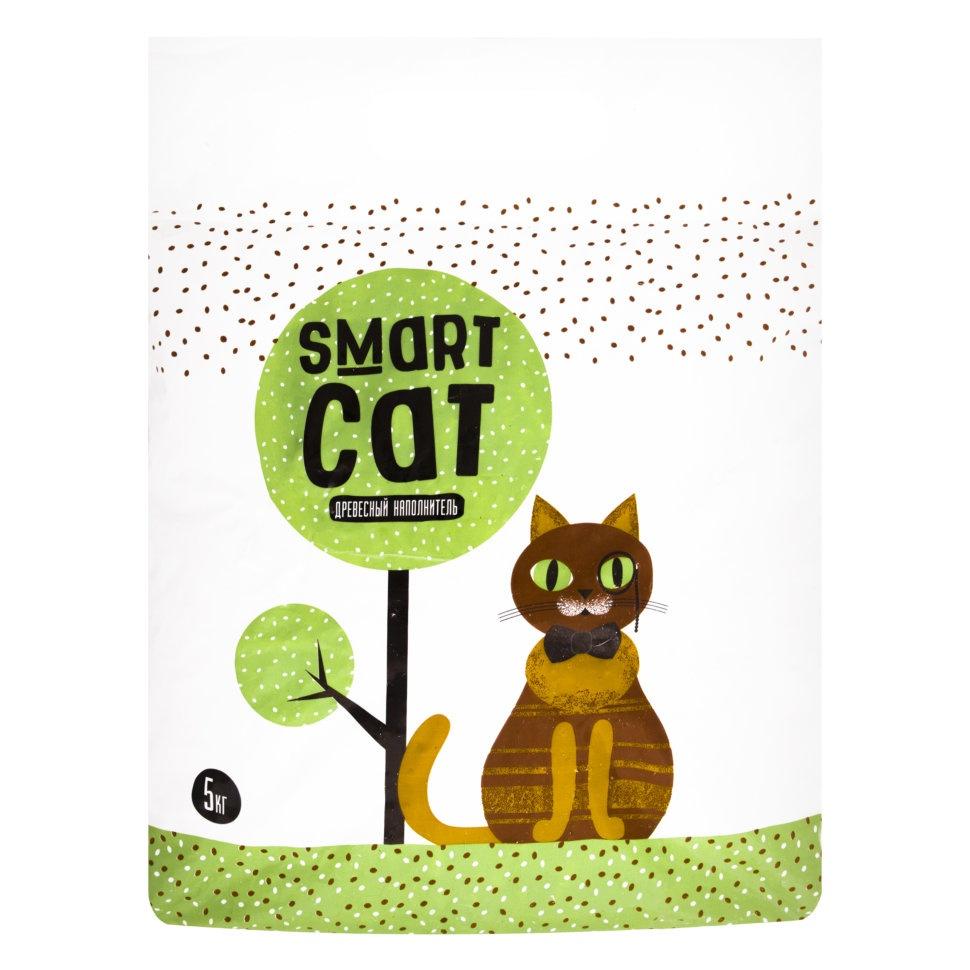 SMART CAT Смарт Кэт Наполнитель древесный