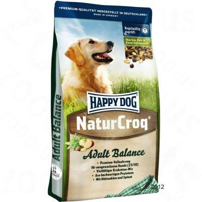 HAPPY DOG NaturCroq Balance Хэппи Дог для собак с 5-ю зерновыми культурами, овощами и сыром 15 кг
