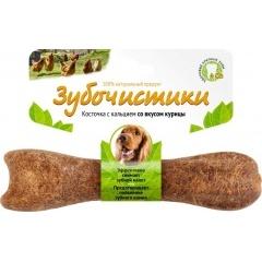 73303815 Зубочистики Лакомство для собак средних пород со вкусом курицы 95 гр