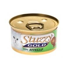 STUZZY GOLD Штуззи Консервы для кошек Мусс с телятиной, 85 г