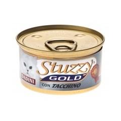 STUZZY GOLD Штуззи Консервы для кошек с кусочками индейки в соусе, 85 г
