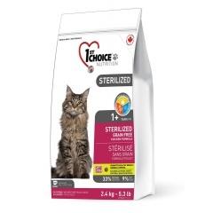 1ST CHOICE Sterilized GF - Фёст Чойс беззерновой сухой корм для стерилизованных кошек с курицей и бататом