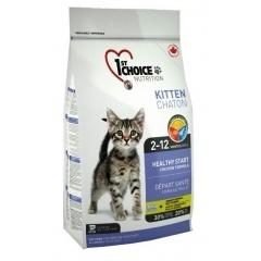 "1ST CHOICE Kitten Healthy Start - Фёст Чойс корм для котят ""Здоровый Старт"" с цыплёнком"