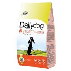 DAILYDOG Puppy Large Turkey and Rice ДейлиДог Корм для щенков крупных пород с индейкой и рисом