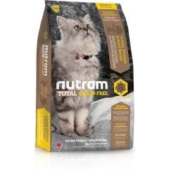 Т22 Nutram GF Turkey,Chicken&Duck - Нутрам Беззерновой Корм для кошек с индейкой, курицей и уткой
