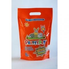 Pretty Pet Наполнитель для грызунов с морковными чипсами 6л