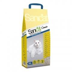 SANICAT CLASSIC - Саникат наполнитель впитывающий без ароматизатора 10 л