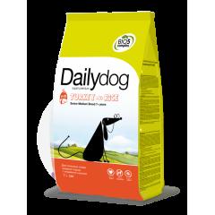 DAILYDOG SENIOR Medium Turkey and Rice Дейлидог корм для собак средних пород пожилых с индейкой и рисом