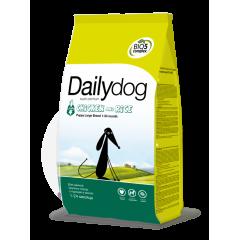 DAILYDOG Puppy Large Chicken and Rice -Дейлидог корм для щенков крупных пород с курицей и рисом