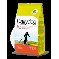 DAILYDOG Puppy Medium Turkey and Rice ДейлиДог Корм для щенков средних пород с индейкой и рисом