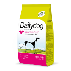 DAILYDOG Adult Medium Breed Lamb and Rice Дэйлидог Корм для собак средних пород с ягненком и рисом