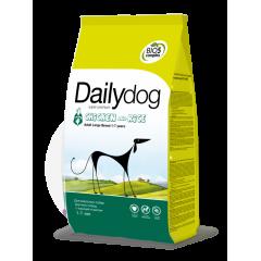 DAILYDOG Adult Large Breed Chicken and Rice - Дэйлидог корм для собак крупных пород с курицей и рисом