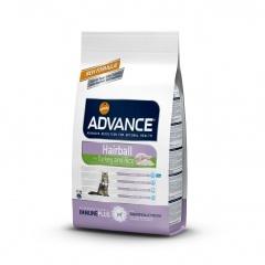Advance Adult tURKEY&Rice - Адванс корм для кошек для выведения шерсти индейка с рисом