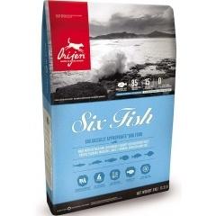 ORIJEN Six Fish Dog Ориджен сухой корм  для собак 6 видов рыбы