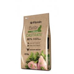 Fitmin Cat Purity Castrate - Фитмин Беззерновой корм для взрослых кастрированных и стерилизованных кошек 10 кг