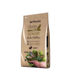 Fitmin Cat Purity Senior - Фитмин Беззерновой корм для пожилых кошек 10 кг