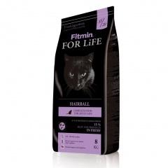Fitmin сat For Life Hairball Корм для кошек длинношерстных 8 кг