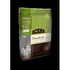 AСANA GRASSLANDS Акана сухой беззерновой корм для собак всех пород с ягненком 11,4кг