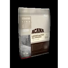 AСANA  LIGHT & FIT Акана сухой корм облегченный 11,4кг