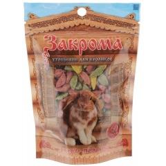 ЗАКРОМА Лакомство для кроликов 60 гр