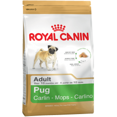 Royal Canin Pug Adult - Роял Канин для собак породы Мопс от 10 месяцев