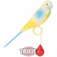 5311 TRIXIE Пластиковый попугай 13 см