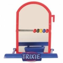 5225 TRIXIE Игрушка для птиц Зеркало с жердочкой 9 см