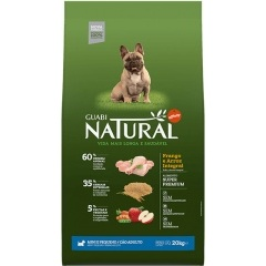 Приют Дворянское гнездо.. GUABI NATURAL Adult dog's miniature and small breeds - Гуаби Натурал Корм для собак мелких пород