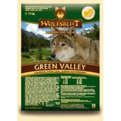 АКЦИЯ до 30/11-10% WOLFSBLUT Green Valley - Волчья Кровь Зеленая Долина Корм для собак с бараниной, лососем, облепихой и травами 2кг