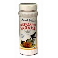 Верный Друг Ликвидатор-порошок запаха в клетках птиц и грызунов 500 гр