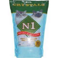 №1 Crystals Наполнитель силикагелевый 5 л