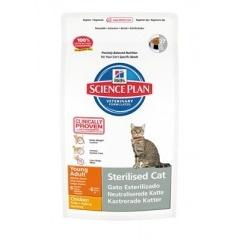 Hills SP Feline Sterilised Cat Young Adult Хиллс  Корм для МОЛОДЫХ стерилизованных кошек на курице