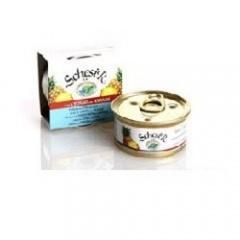 Schesir Шесир Консервы для кошек тунец с ананасом и рисом 75 гр