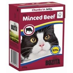 Bozita Minced Beef - Бозита Кусочки в желе для кошек, c рубленой говядиной, 370 г