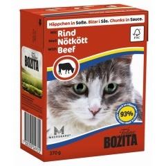 Bozita Beef - Бозита Кусочки в соусе для кошек, с говядиной, 370 г