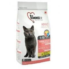1ST CHOICE Indoor - Vitality - Фёст Чойс корм для домашних кошек с цыплёнком