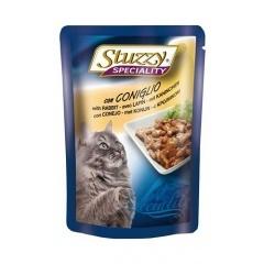 Stuzzy Speciality Штуззи Консервы для кошек с кроликом, паучи, 100 г