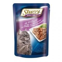 Stuzzy Speciality Штуззи Консервы для кошек с телятиной, паучи, 100 г