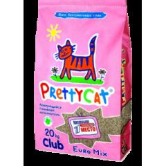 Pretty Cat Претти Кэт Комкующийся наполнитель (euro mix double effect) 5 кг