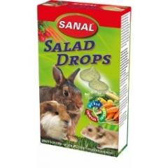 SANAL Дропсы для грызунов с овощами 45 гр
