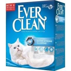 EVER CLEAN - Extra Strength Unscented Эвер Клин Комкующийся наполнитель без аромата для чувствительных кошек (голубая полоска)