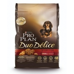 PROPLAN Duo Delice Small Adult Проплан для собак мелких пород с говядиной и рисом