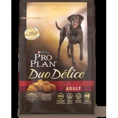 PROPLAN Duo Delice Проплан сухой корм для собак с говядиной и рисом