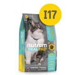 I17 Nutram Support Indoor Shedding - Нутрам Корм для здоровья кожи и шерсти кошек, живущих в помещении